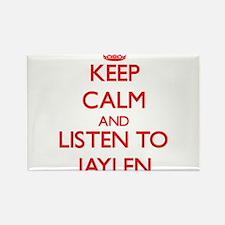 Keep Calm and Listen to Jaylen Magnets