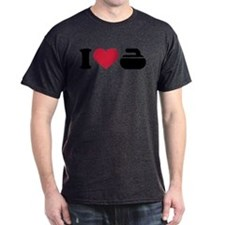 I love Curling stone T-Shirt