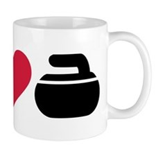 I love Curling stone Mug