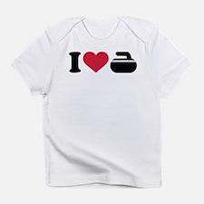 I love Curling stone Infant T-Shirt