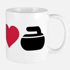 I love Curling stone Mug