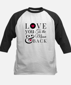 To the Moon Back Baseball Jersey