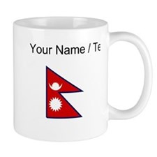 Custom Nepal Flag Mugs