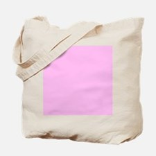 Pink Solid Color Tote Bag