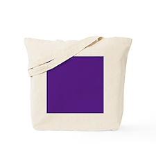 Dark Purple Solid Color Tote Bag
