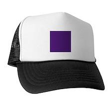 Dark Purple Solid Color Hat