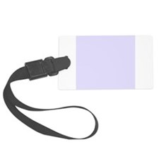 Lilac Purple Solid Color Luggage Tag