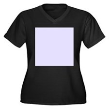 Lilac Purple Solid Color Plus Size T-Shirt