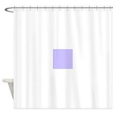 Light Purple Solid Color Shower Curtain