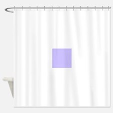 Light Purple Solid Color Shower Curtain