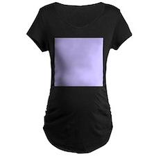 Light Purple Solid Color Maternity T-Shirt
