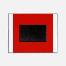Red Solid Color Picture Frame