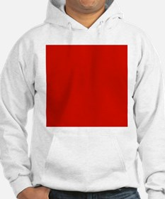 Red Solid Color Jumper Hoody