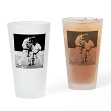 Cute Shotokan karate Drinking Glass