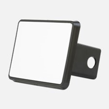 White Solid Color Hitch Cover