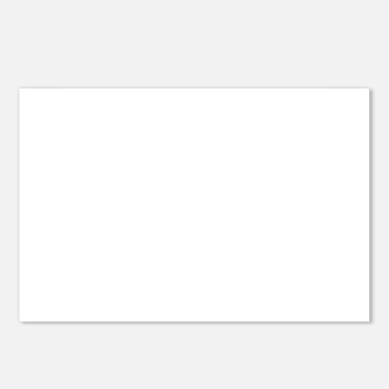 White Solid Color Postcards (Package of 8)