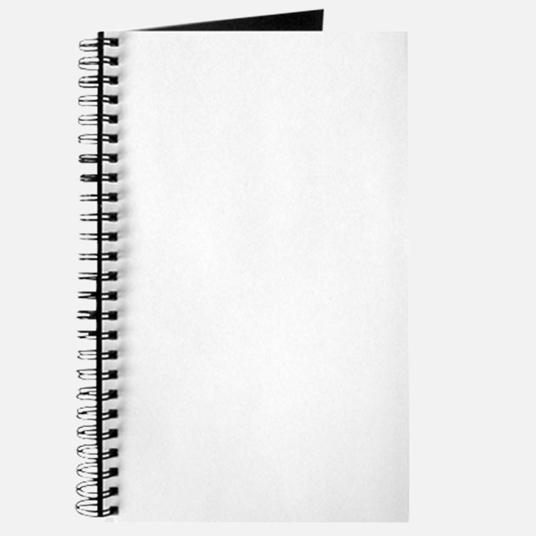White Solid Color Journal