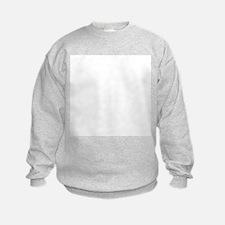 White Solid Color Sweatshirt