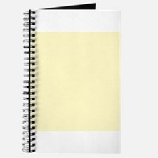 Pastel Yellow Solid Color Journal