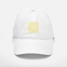 Pastel Yellow Solid Color Baseball Baseball Cap