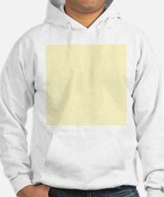 Pastel Yellow Solid Color Jumper Hoody