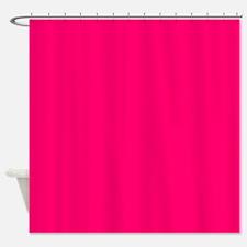 VIVID RASPBERRY Shower Curtain