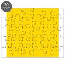 Mustard Yellow Solid Color Puzzle