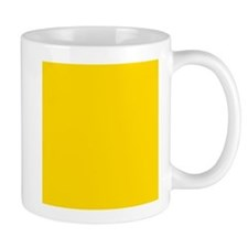 Mustard Yellow Solid Color Mugs