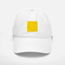 Mustard Yellow Solid Color Baseball Baseball Cap