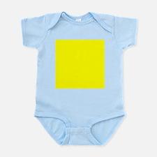 Lemon Yellow Solid Color Body Suit