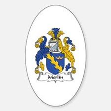 Merlin Oval Decal