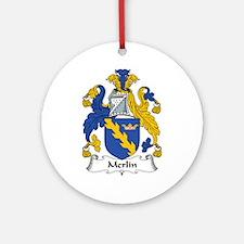 Merlin Ornament (Round)