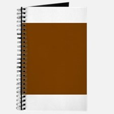Brown Solid Color Journal