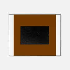Brown Solid Color Picture Frame