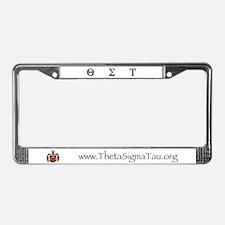 Theta Sigma Tau License Plate Frame