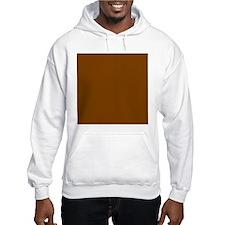 Brown Solid Color Jumper Hoody