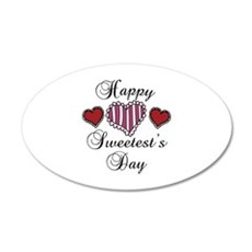 Happy sweetests day Wall Decal