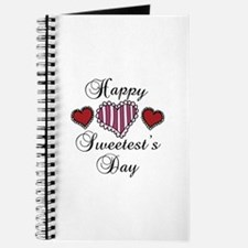 Happy sweetests day Journal