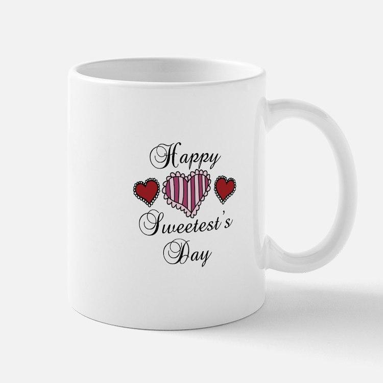 Happy sweetests day Mugs