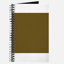 Muddy Brown Solid Color Journal