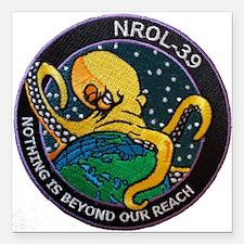 "NROL-39 Program Logo Square Car Magnet 3"" x 3"""