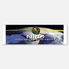 NROL-39 Program Logo Bumper Bumper Sticker
