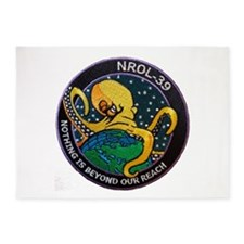 NROL-39 Program Logo 5'x7'Area Rug