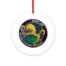 NROL-39 Program Logo Ornament (Round)