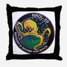 NROL-39 Program Logo Throw Pillow