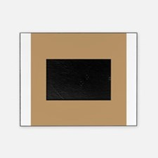 Tan Brown Solid Color Picture Frame