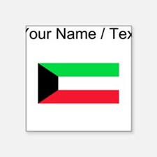 Custom Kuwait Flag Sticker