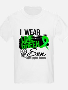 Son Lymphoma Ribbon T-Shirt