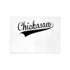 Chickasaw, Retro, 5'x7'Area Rug