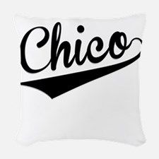 Chico, Retro, Woven Throw Pillow